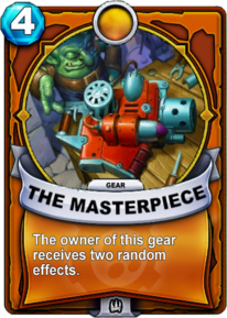 The Masterpiece - Gearcard