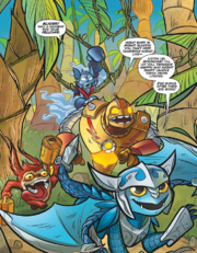 Skylanders Micro Comic5 Strip