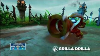 Skylanders Swap Force - Grilla Drilla Gameplay Vignette (If There's a Drill, There's a Way)
