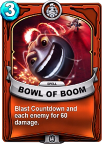 Bowl of Boomcard