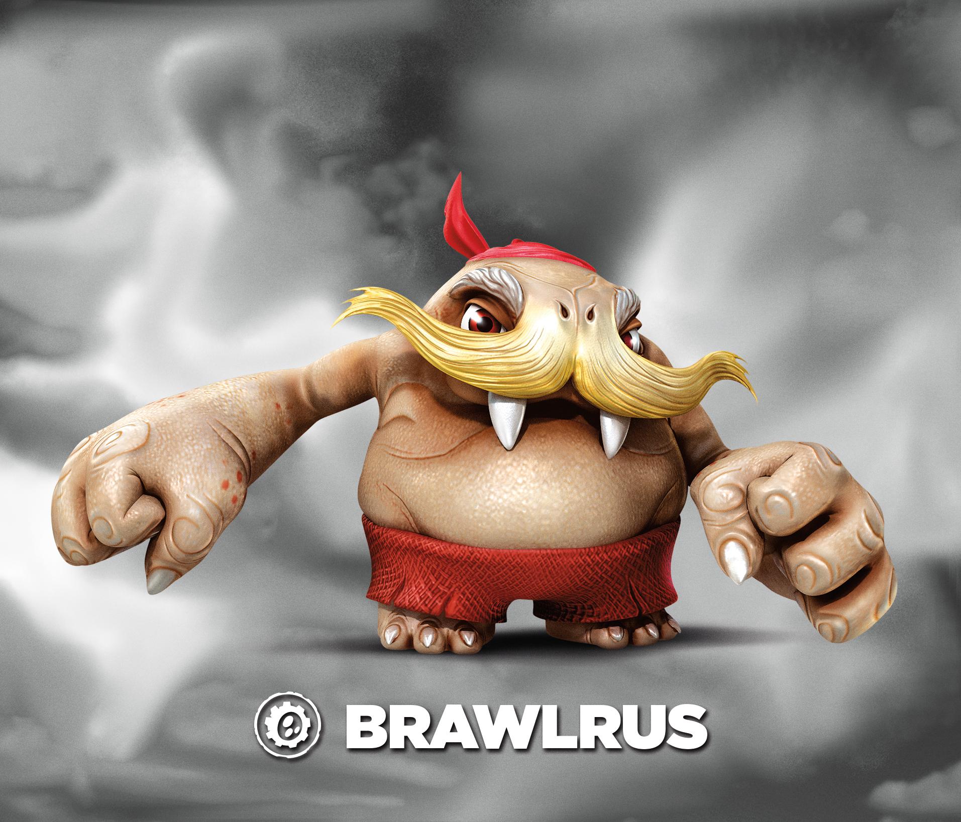 Brawlrus (villain)   Skylanders Wiki   FANDOM powered by Wikia