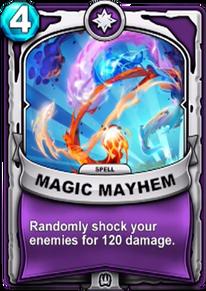 Magic Mayhemcard