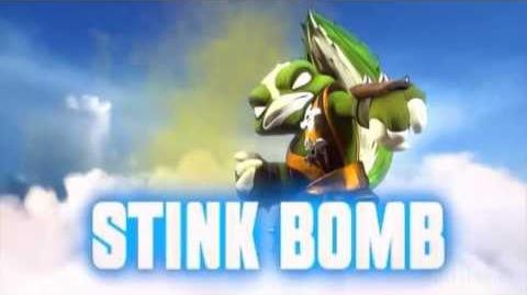 Skylanders Swap Force - Stink Bomb Soul Gem Preview (Clear the Air)