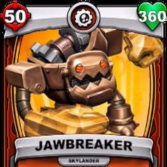 Carta de Jawbreaker de Skylanders: Battlecast