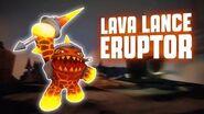Skylanders SuperChargers - Lava Lance Eruptor's Soul Gem Preview (Born to Burn)