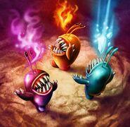 Elemental Chompies Battlecast