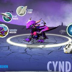 Cynder en la web