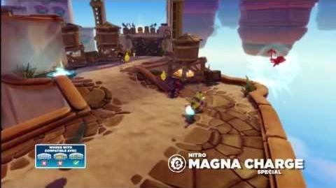 Meet the Skylanders Nitro Magna Charge NT