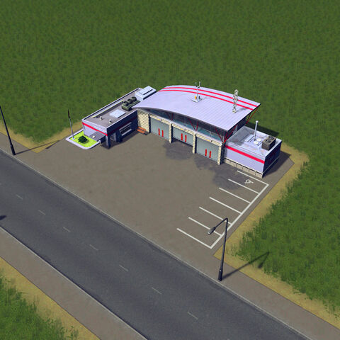 In-game fire house