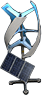 Advanced wind turbine