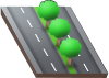 File:Four-lane road with decorative trees.png