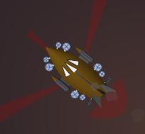 HF Bismarck Top Down In Combat
