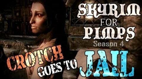 Skyrim For Pimps - Crotch Goes to Jail (S4E04) Hearthfire Walkthrough-0