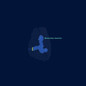 Map-Erbe Scenic Route - 4th Map SC
