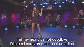Ashley Tisdale - Tell Me Lies (Live)