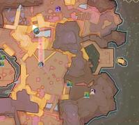 Gg mosaic path end map