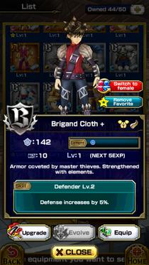 Brigand Cloth +