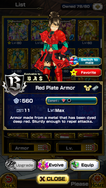 Red Plate Armor
