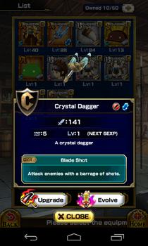 Crystal-Dagger