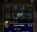 Crystal Dagger