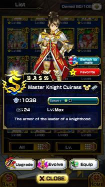Master Knight Cuirass (F)