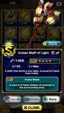 Vulcan Staff of Light