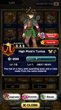 High Pixie's Tunica