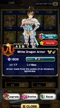 White Dragon Armor (F)