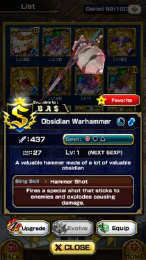 Obsidian Warhammer