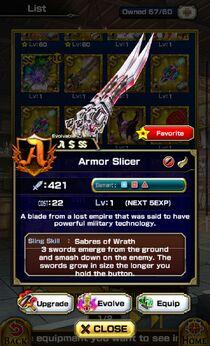 Armor Slicer