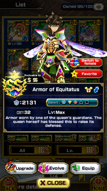 Armor of Equitatus (M)