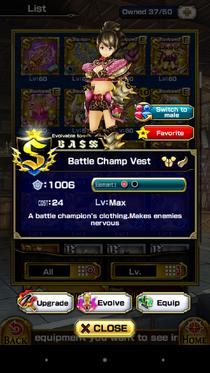 Battle Champ Vest (F)