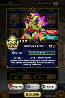 Hachiryu's Armor (M)