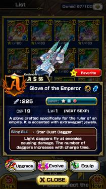 Glove of the Emperor