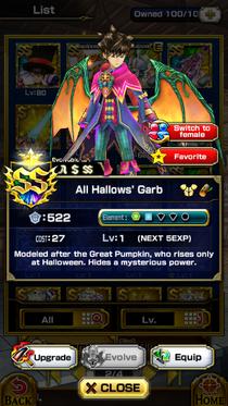 All Hallows Garb(m)