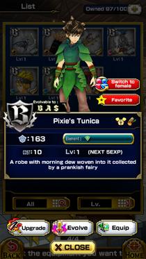 Pixie's Tunica M