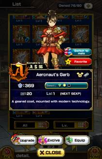 Aeronaut's Garb (F)