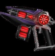 Blakk's harbinger firestorm blaster