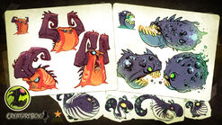 Slugs and Ghouls Concept Art