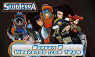 Slugterra Season 3 on KIX tv UK