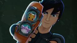 'Burpy' & 'Suds' in 'Fusion Blaster'