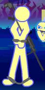 Stick JK trapped