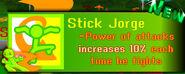 Stick Jorge's Info