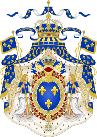 File:424px-Grand Royal Coat of Arms of France svg.png