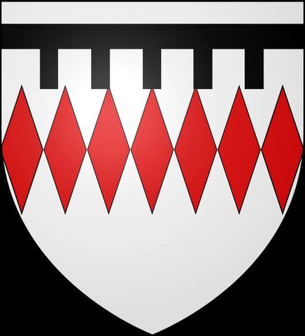 File:545px-Blason Guy II de Chauvigny (selon Gelre) svg.png