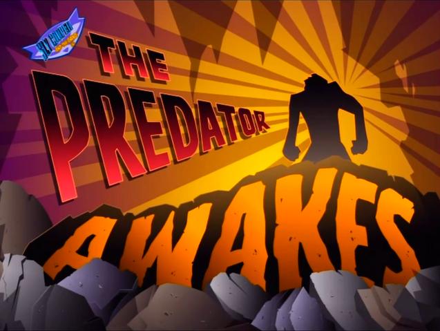 File:The Predator Awakes Title.png