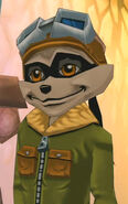 Sly's ACCES pilot disguise