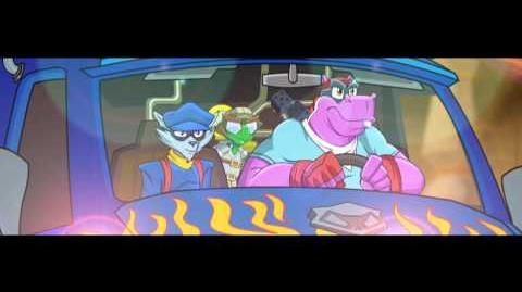 Sly Cooper Thieves in Time Trailer