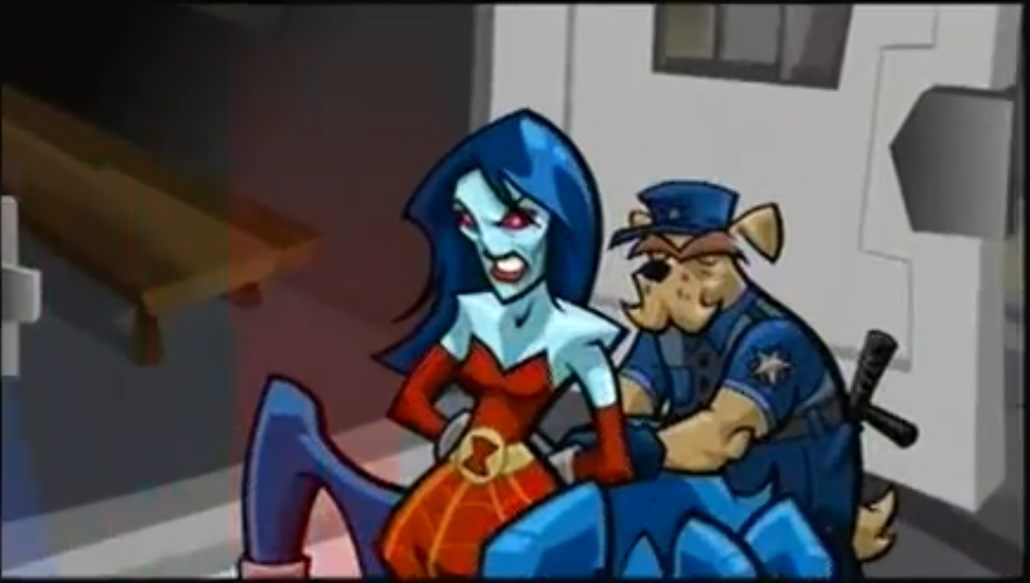 Image The Contessa Being Arrested Png Sly Cooper Wiki