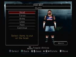 Create A Wrestler mode
